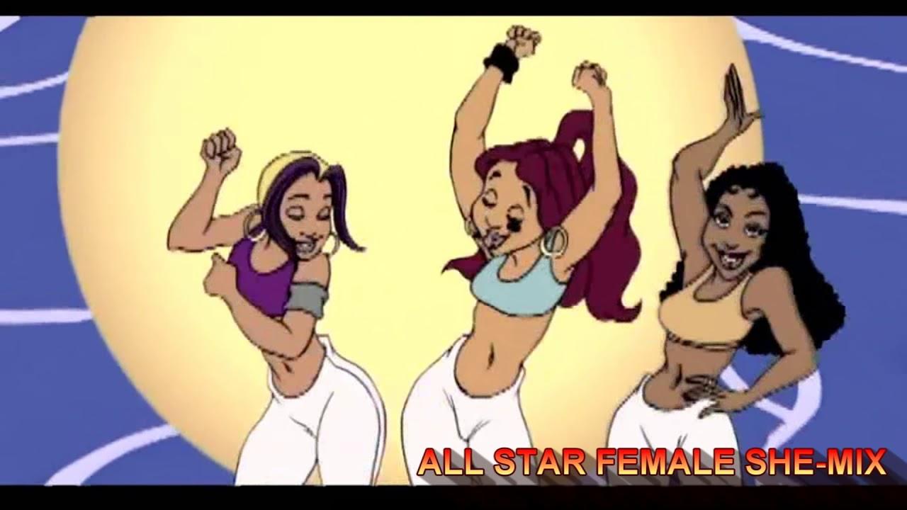 Bruno Mars Ft Cardi B Missy Lil Kim Eve Remy Ma More Finesse She Mix Video