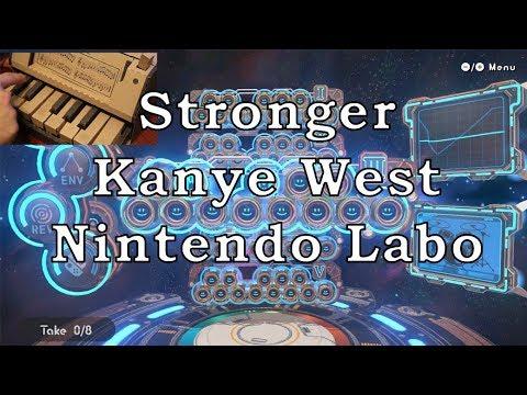 Nintendo Labo Piano - Stronger (Kanye West)