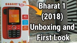 Micromax V409 || Bharat 1 (2018) Unboxing and First Look