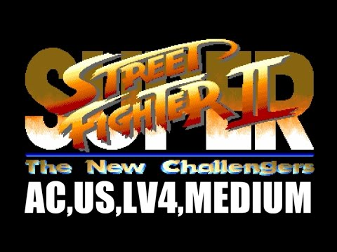 [1/4] SUPER STREET FIGHTER II(Arcade,US,LV4,MEDIUM)