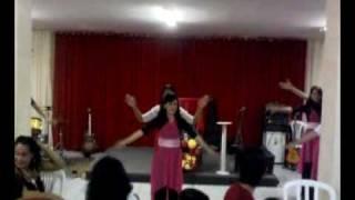 Apresentação do Ministério de Dança da SNT DE Mangaberia-Começa em Mim Senhor!!!