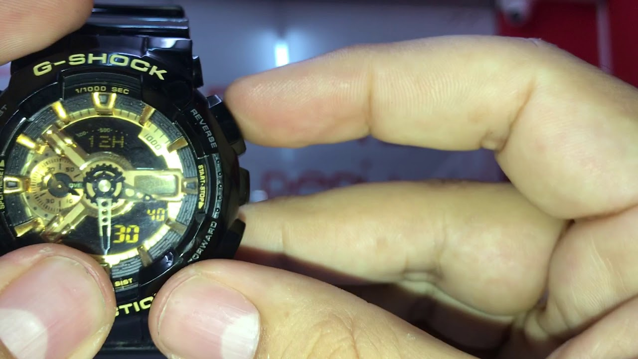 Ajuste Horas G Shock Steel Gst 100g By Robeson Souza