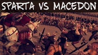 Total War Rome 2 Online Battle 80 Sparta vs Macedon