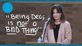 Being Deaf Is Not The Problem   Baylor School   Rikki Poynter