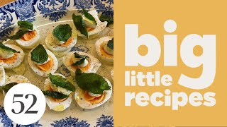 Soft-Boiled Eggs With Sage Aioli | Big Little Recipes