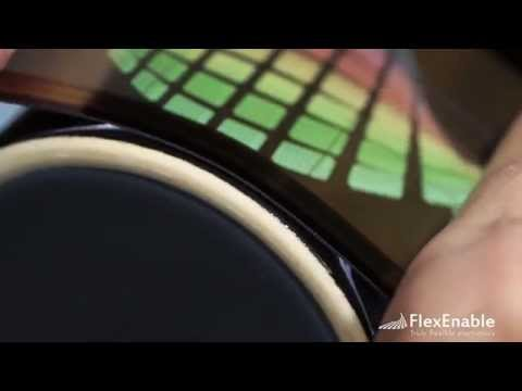 Conformable organic LCD: shatterproof, ultra-thin and flexible