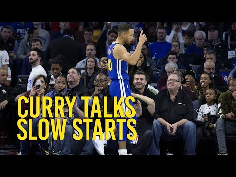 Stephen Curry on slow starts and mental mistakes