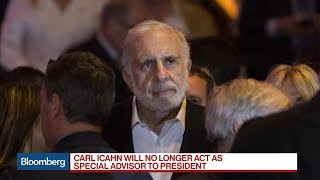 Icahn Says He Ceased to Act as Special Advisor to Trump