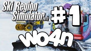 Wo4n spelar Ski Region Simulator 2012 #1