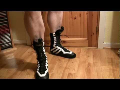 Adidas Tygun 2 boxing boots - YouTube