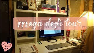 Mega Desk Tour!