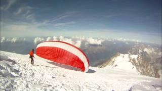 parapente au mont blanc-mont blanc paragliding
