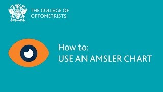 How to: Check your central vision using an Amsler chart