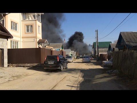 Пожар по улице Бажова