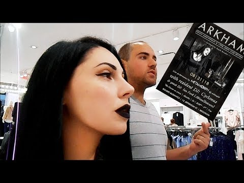 Shopping For Mike's First Goth Club   I Used To Turn People Goth