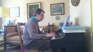 Cheek to cheek - Fred Astaire - Piano