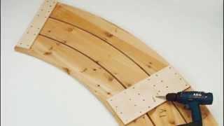 Скамейка своими руками Садовая деревянная скамья своими руками