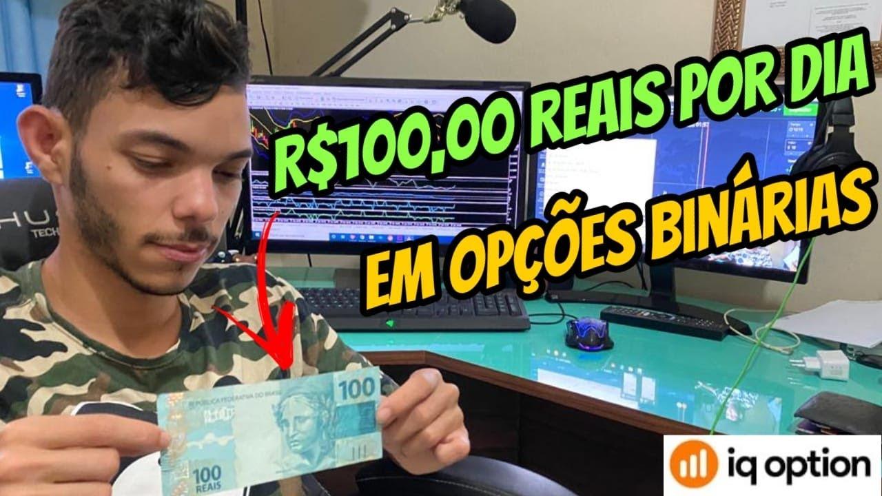 NOVO GERENCIAMENTO PARA GANHAR R$100,00 REAIS POR DIA EM OPÇÕES BINÁRIAS!