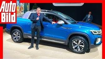 VW Tarok Concept (2019): Volkswagen Pick up Studie - Details - Infos