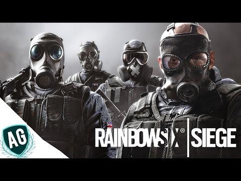 Rainbow Six Siege - Não consigo parar de jogar com o MUTE ! Ft. Sr.Rage !