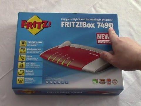 fritzbox 7490 anschlie en und einrichten a ch youtube