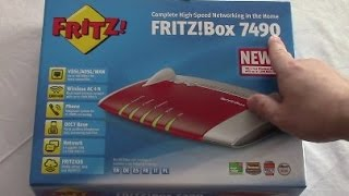 Fritzbox 7490 anschließen und einrichten A/CH