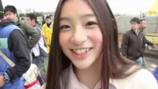 11月23日、2010Jリーグ特命PR部女子マネの足立梨花さんが栃木県グリーン...