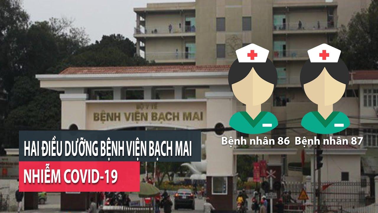 2 điều dưỡng Bệnh viện Bạch Mai nhiễm COVID-19- PLO