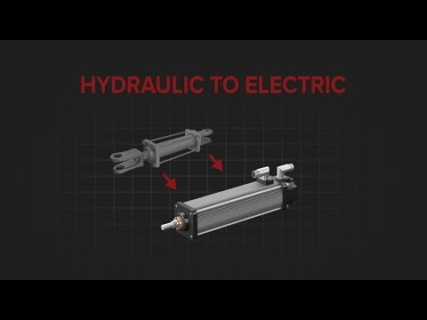 The Benefits of Migrating from Hydraulic Cylinders to Electric Actuation