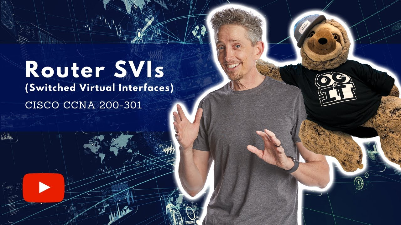 Download Switched Virtual Interfaces (SVIs) on Routers   Cisco CCNA 200-301