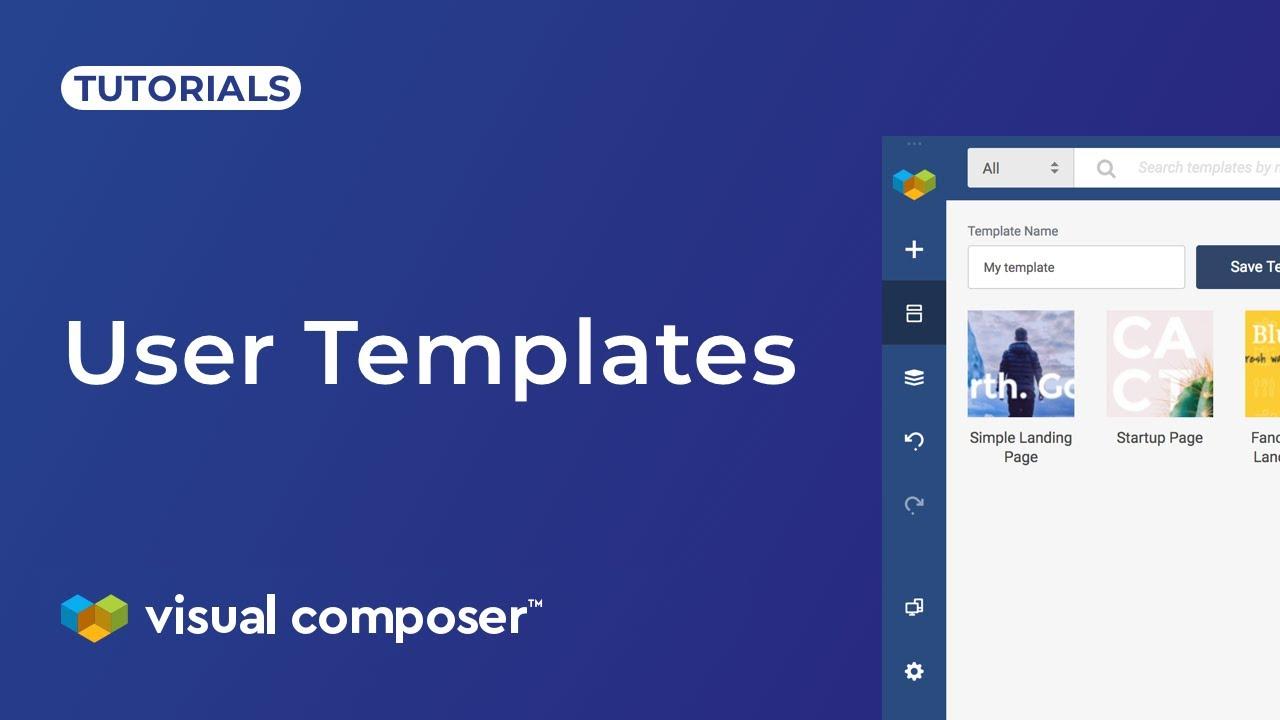 Templates - Visual Composer Website Builder