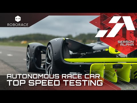 Testing the top speed limits of an autonomous race car | Go Robocar Go