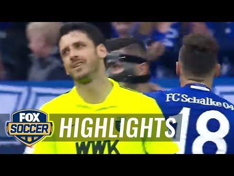 FC Schalke 04 vs. FC Augsburg   2016-17 Bundesliga Highlights