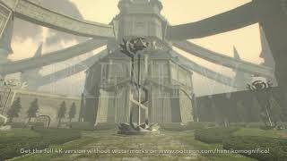 Zelda Twilight Princess (Hyrule Castle) - 4K 60FPS Looping Background by Henriko Magnifico