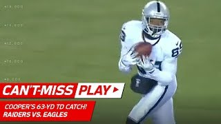 Amari Cooper Blasts Off for a 63-Yd Catch-'n-Run TD vs. Philly! | Can't-Miss Play | NFL Wk 16