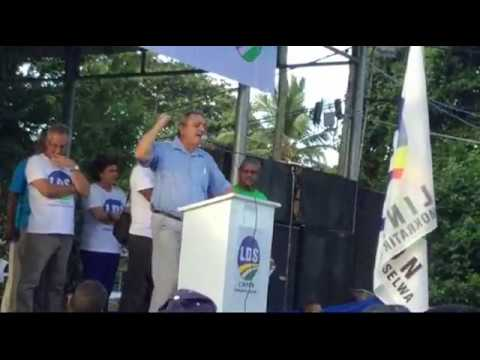 Roger Mancienne - LDS Rally, Anse Royale on Jun 4, 2017