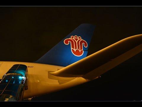 China Southern A380 Economy Class CZ3104 Beijing to Guangzhou