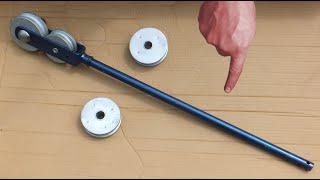 Giętarka do rur własnej roboty - Tube bender DIY