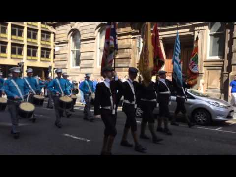 36th Ulster Division Memorial Association Parade 6/8/16 vid 4