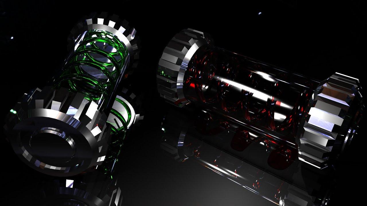 Sci-fi Liquid Nuclear Grenade | Threediz
