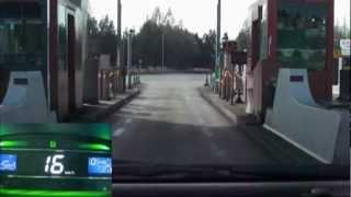 エコカー実証記録 ダイハツミラ:イース(高速道走行編)