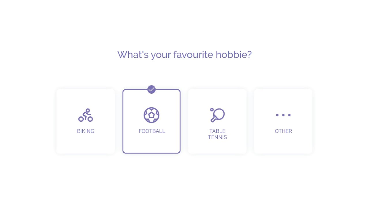 How To Make Custom Radio Buttons With Cool Effect | Pure CSS | DesignTorch