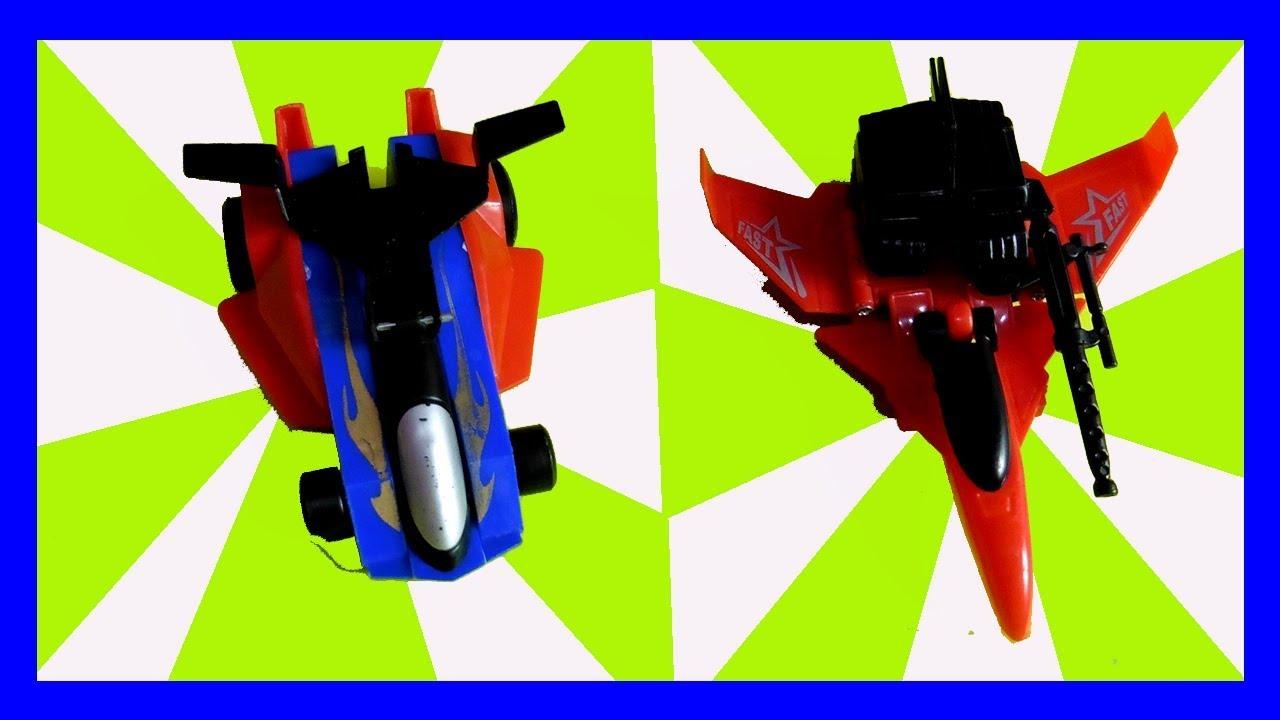 Mainan Robot Transform Robot Jadi Mobil Balap Dan Pesawat Satria Fun N Play Youtube