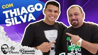 """THIAGO SILVA: """"CR7 NÃO TEM A QUALIDADE DO MESSI"""" - ALÊ OLIVEIRA RESPONDE #73"""