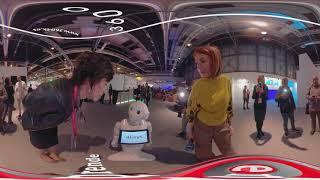 RTVE robot Humanoide en Fitur
