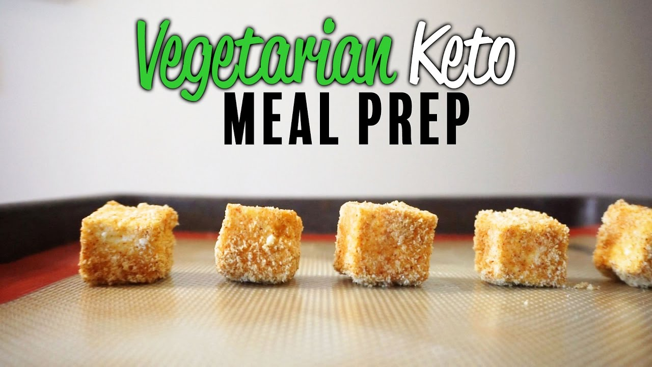 Vegetarian Keto Meal Prep | Keto Vegetarian 5 Day Meal Plan With Cooking Instructions