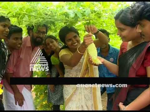 Thiruvalla Mar Thoma College students success story of organic farming