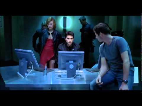 Resident Evil - Laser Corridor Scene
