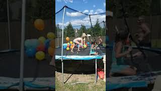 Balloon Fun - Trampoline Fun - Family Fun - Girly Fun