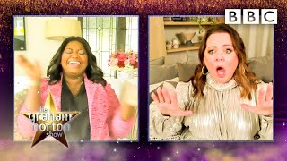 Melissa McCarthy 'likes being in a harness', Octavia Spencer 💀@The Graham Norton Show ⭐️ BBC